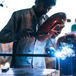 tractor welding